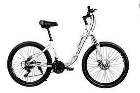 """Складаний велосипед Unicorn - Gloria 26"""" розмір рами 16"""" Білий"""