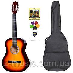 Гитара классическая 4/4 Olive Tree CG-39 SB (чехол, медиатор, копилка, струна, ключ)