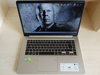 "Ноутбук ASUS VivoBook S15 S510UN 15.6"" FHD Core i7-8550U 16gb 500gb+256gb ssd/USB Type-C/GeForce MX150,2gb"