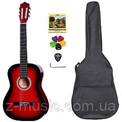 Гитара классическая 4/4 Olive Tree CG-39 RD (чехол, медиатор, копилка, струна, ключ)