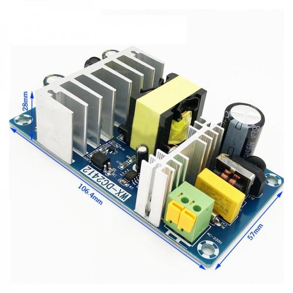 Імпульсний джерело живлення (блок живлення) 12V 8A 96W, WX-DC2412