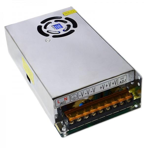 Блок живлення металевий (стабілізований імпульсний адаптер) 12V 20A 250W, MHZ S-250-12