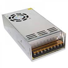 Блок живлення металевий (стабілізований імпульсний адаптер) 12V 30A 360W, MHZ S-360-12