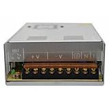 Блок живлення металевий (стабілізований імпульсний адаптер) 12V 30A 360W, MHZ S-360-12, фото 3