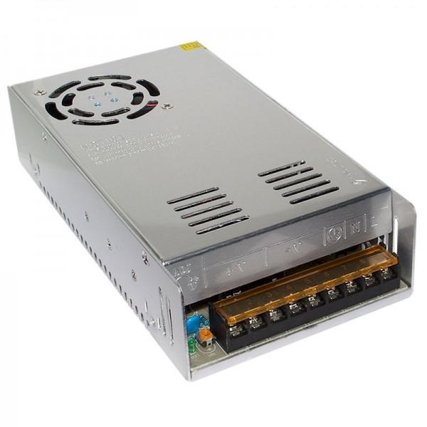 Блок живлення металевий (стабілізований імпульсний адаптер) 12V 40A 480W, MHZ S-480-12