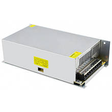 Блок питания 12V 50A 600W, металлический стабилизированный импульсный адаптер MHZ S-600-12