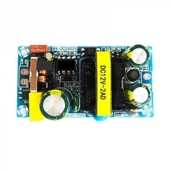 Імпульсний джерело живлення (блок живлення) 12V 2A 24W, WX-DC24025