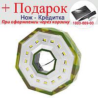 Туристичний ліхтар для кемпінгу BL-983-16SMD з магнітом, 3xAA, петлею для підвісу Жовтий, фото 1