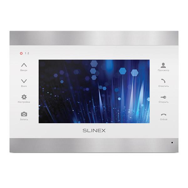 Відеодомофон Slinex SL-07 IP (silver+white)