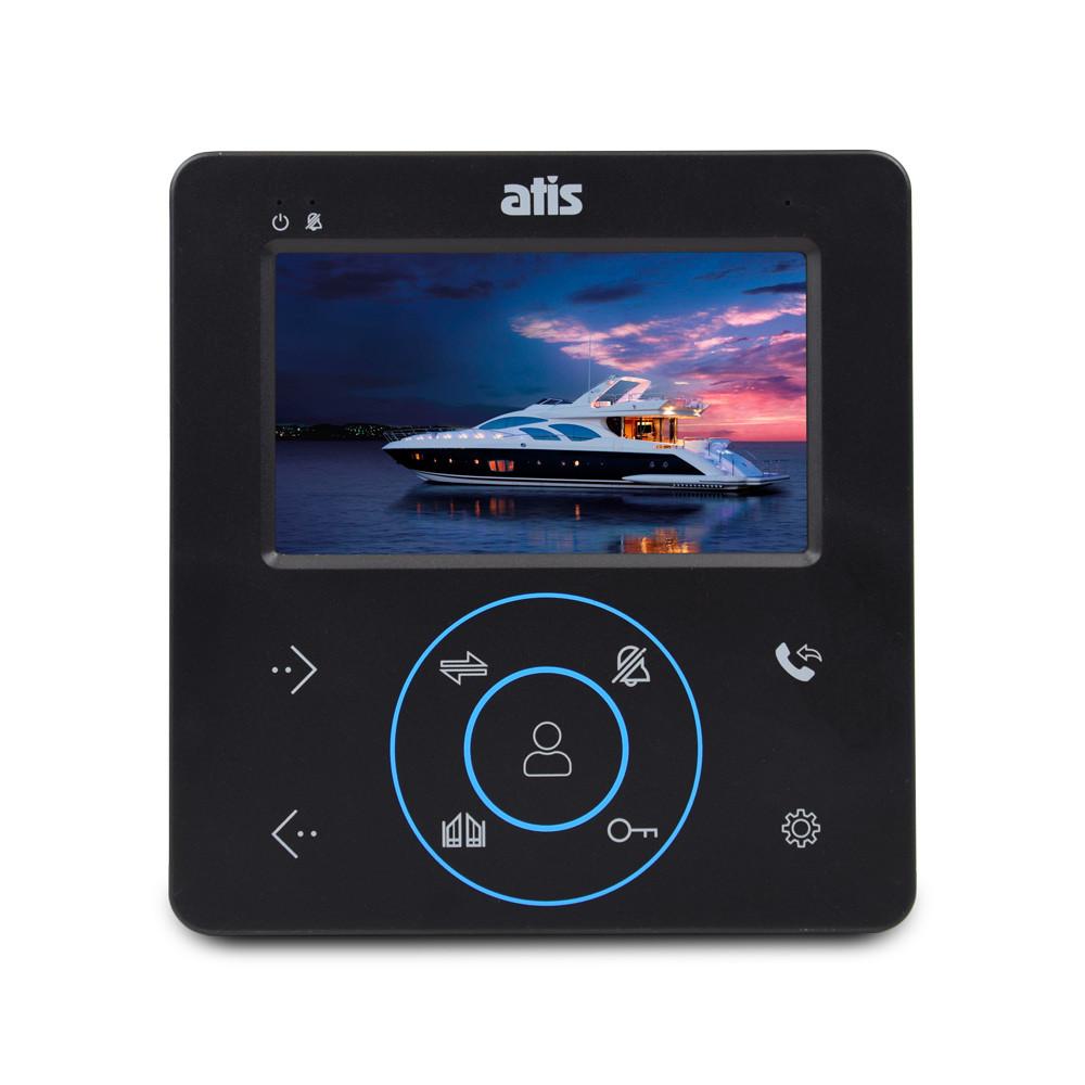 Домофон с камерой ATIS AD-480 MB. Видеодомофон в квартиру без трубки