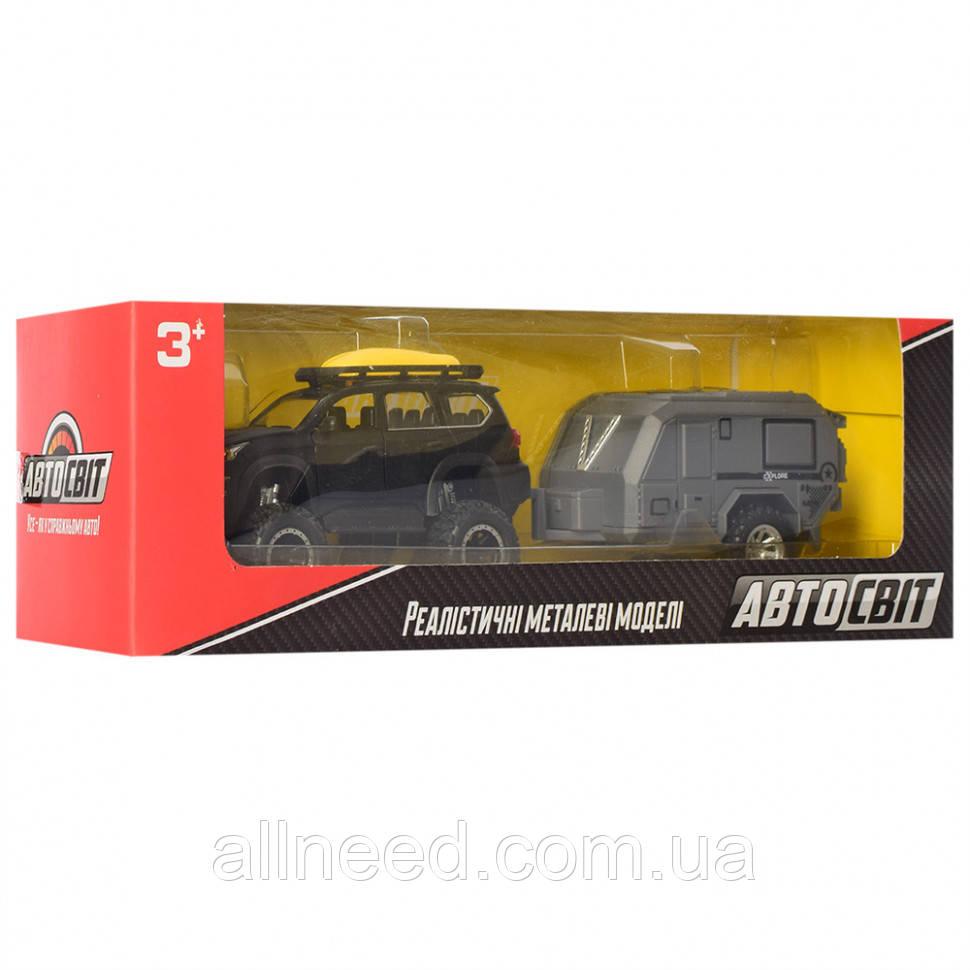 Колекційна іграшкова машинка Джип AS-2541 інерційний (Чорний)