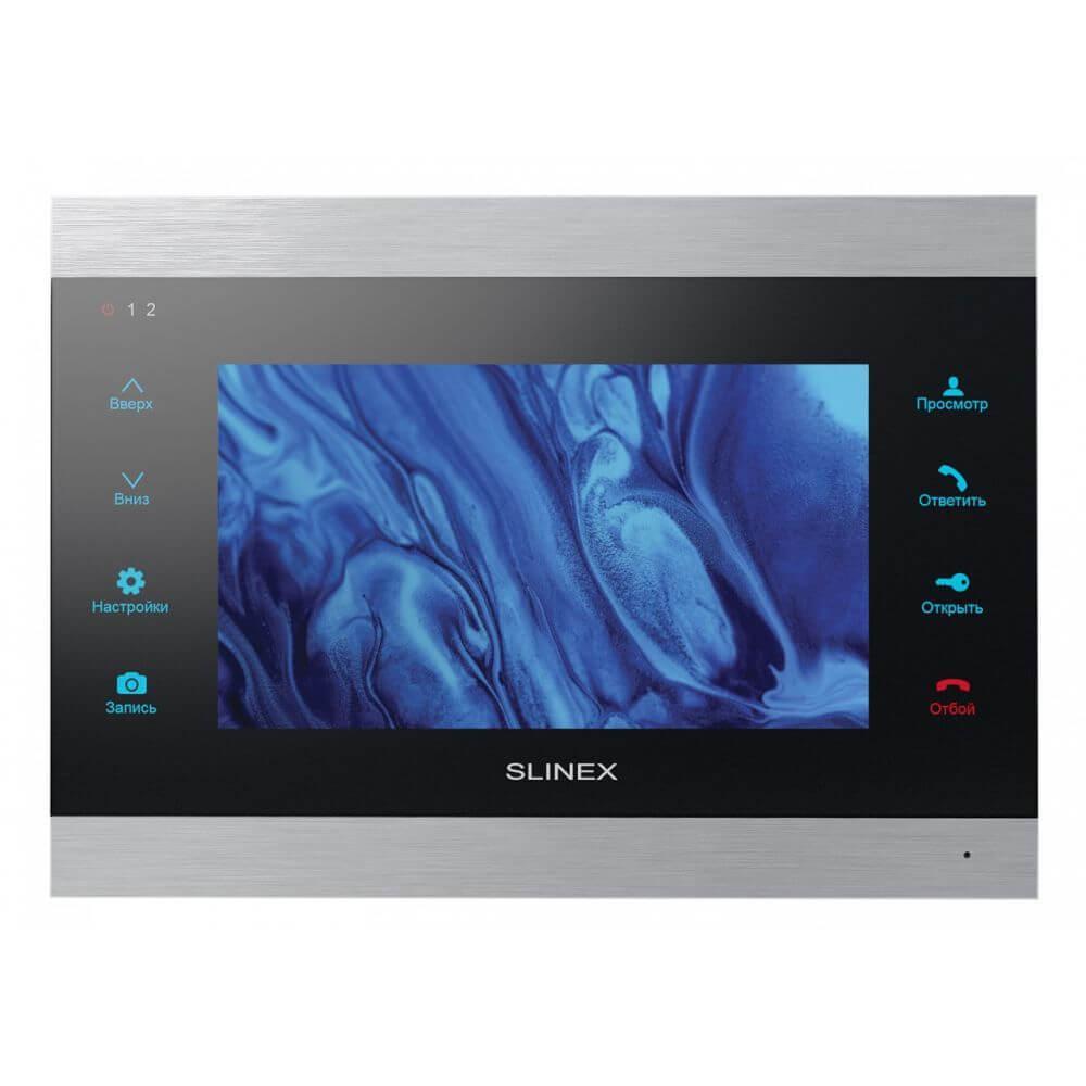 """IP-видеодомофон с Wi-Fi 7"""" Slinex SL-07IPHD (silver+black)"""
