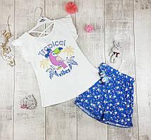 Дитячі літні костюми дівчаток №21528