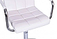 Барний стілець Hoker ASTANA з підставкою для ніг БІЛИЙ Польща, фото 5