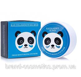 Гидрогелевые патчи SERSANLOVE Blue Collagen Eye Gel Mask с экстрактом черники и коллагеном