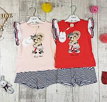 Дитячі літні костюми дівчаток №4445
