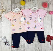 Дитячі літні костюми дівчаток №6512