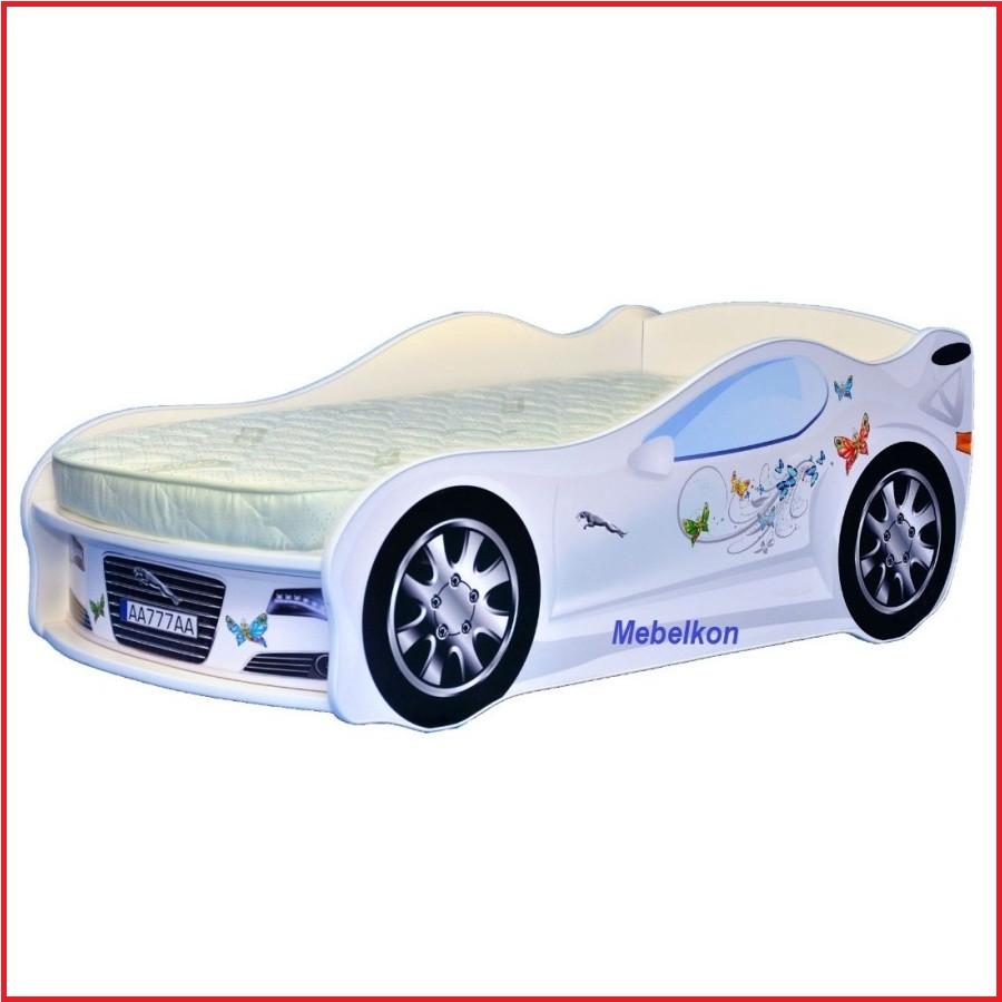 Ліжко Машина для дівчинки (Mebelkon)