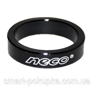 """Проставочное кольцо 1-1/8"""" 10mm NECO 10 шт (черн.)"""