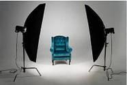 2.5/2.75 G*4м Фотофон білий вініловий для потолочно-настінних кріплень Super Matt VINIL BD-PRO White, фото 4