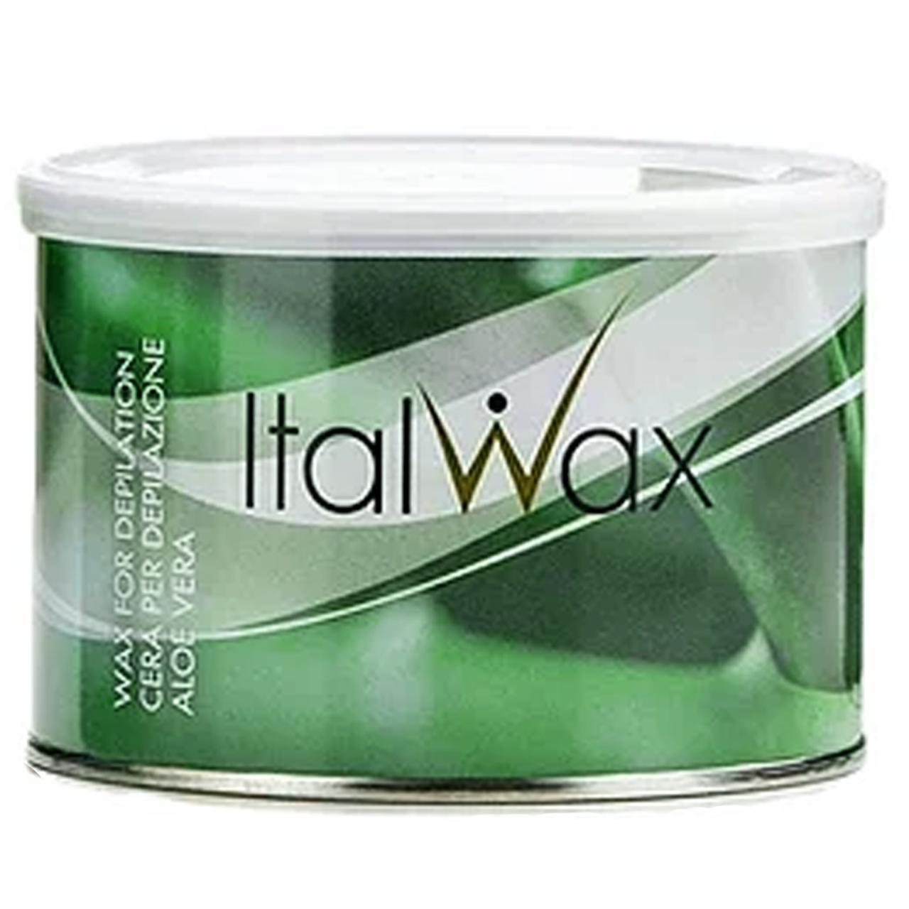 Воск баночный Ital Wax, 400 мл Aloe Vera