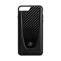 Чехол Mercedes-Benz Carbon для Apple Iphone 8 Plus Цвет Чёрный