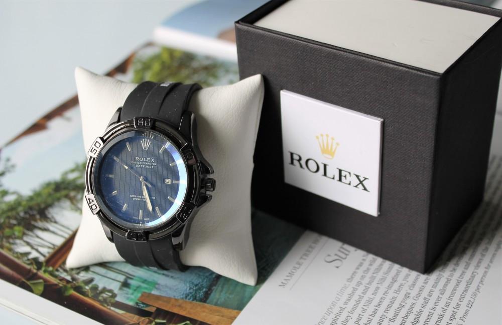 Чоловічі наручні годинники Rolex total black