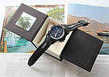 Чоловічі наручні годинники Rolex total black, фото 3