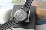 Чоловічі наручні годинники Rolex total black, фото 4