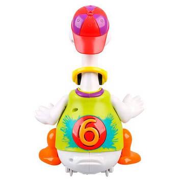 Интерактивная музыкальная игрушка Hola Toys Танцующий гусь (828-green)