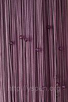 Нитяные шторы со стеклярусом СО20