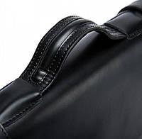 Чоловічий шкіряний портфель Vintage 14646 шкіряний Чорний, фото 7