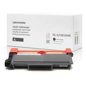 Сумісний картридж Brother HL-L2365DWR (тонер-картридж) підвищений ресурс, 3.000 копій, аналог від Gravitone
