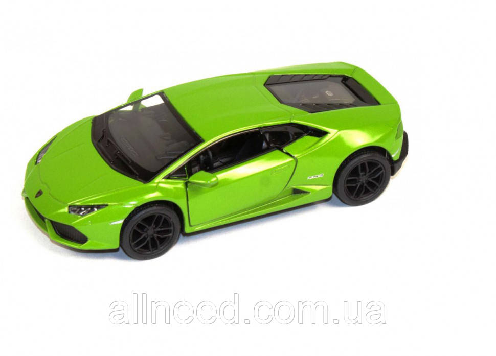 Игрушечная модель машинки Lamborghini KT5382W инерционная (Зеленый)