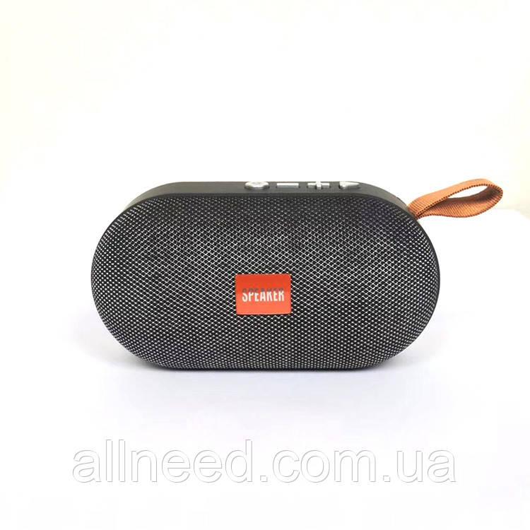 Колонка портативная Т-7 с Bluetooth и слотом для Micro SD (Серый)