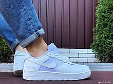 Кроссовки демисезонные,Nike Air Force Gore-Tex, белые