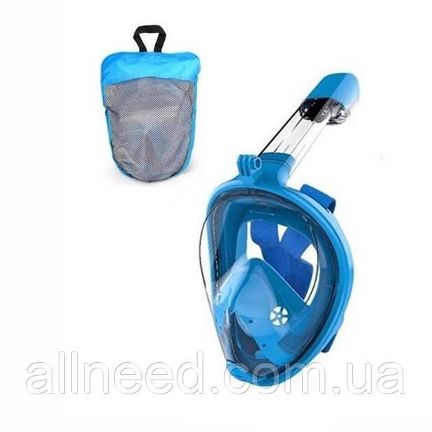Маска для плавання FY777-1 в сумці (Синій)