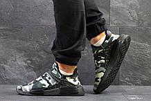 Кроссовки Мужские Adidas NMD Human Race,сетка,милитари
