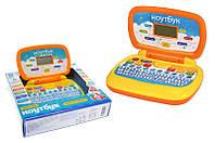 Ноутбук на батарейках: 6 навчальних функцій, пісні, ноти українською мовою, в коробці PL-719-50