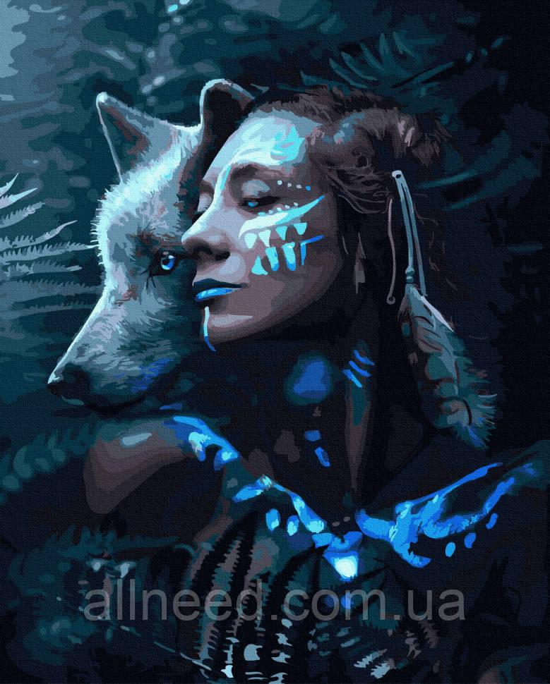 """Картина за номерами. Rainbow Art """"Амазонка"""" GX39784-RA"""