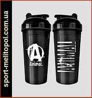 Universal Nutrition Animal Shaker  700 мл, чёрный лак