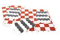 Шашки + нарди (3 набори) 034 BAMSIC