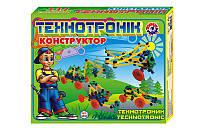"""Конструктор """"Технотронік"""" 139 деталей, в коробці 0830 ТЕХНОК"""