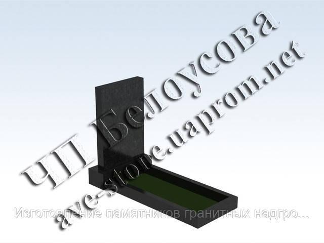Памятник габбро-гранит, круговая полировка (все стороны полированные) в Симферополе и Крыму