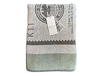 Пляжное махровое полотенце Maison Dor Argent Jacquard Towel хлопок 90-180 см зеленое