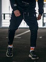 Спортивные штаны мужские укороченные Пушка Огонь Sago черные