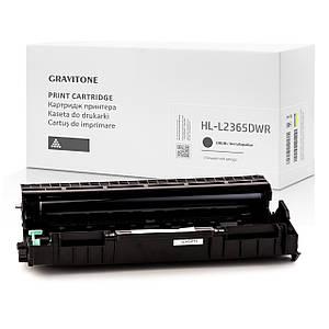 Сумісний драм-картридж Brother HL-L2365DWR (drum), модуль фотобарабан, 12.000 копій, аналог від Gravitone