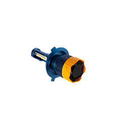 GT7 Лампа светодиодная цоколь H3 blue (к-кт 2 шт) 12/24V, 60W, 4800Lm + вентилятор (авиац. алюмин.)