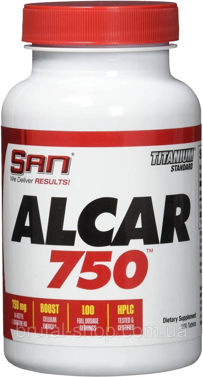 L-карнитин,   SAN ALCAR 750 (100tab)