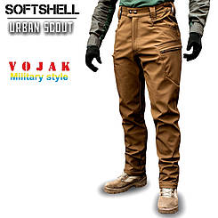 """Брюки SoftShell """"URBAN SCOUT"""" COYOTE"""